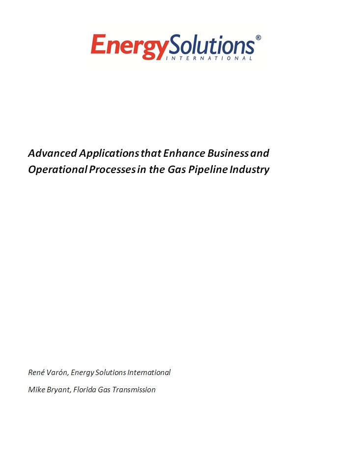Advanced Applications - Florida Gas Transmission