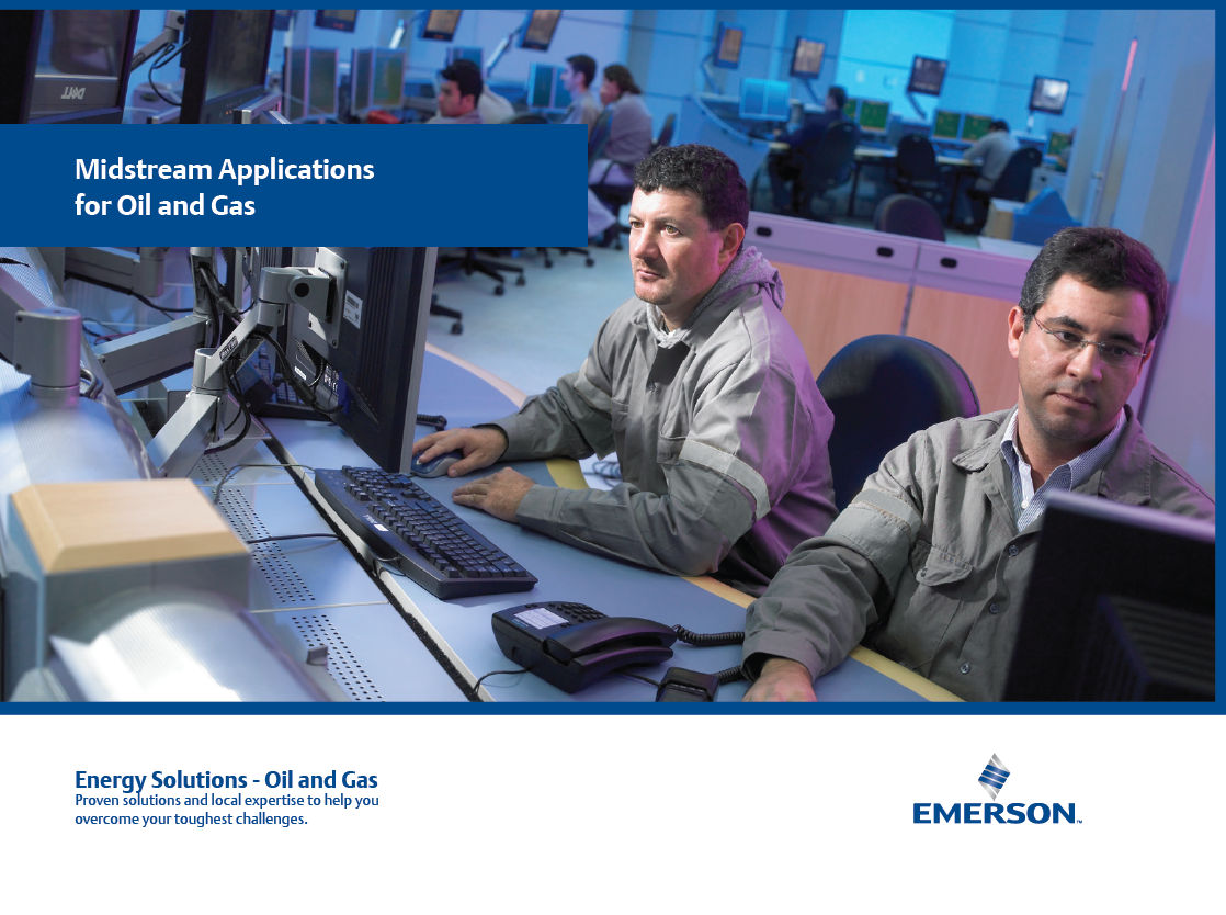Emerson Midstream Applications for Oil and Gas Catalog