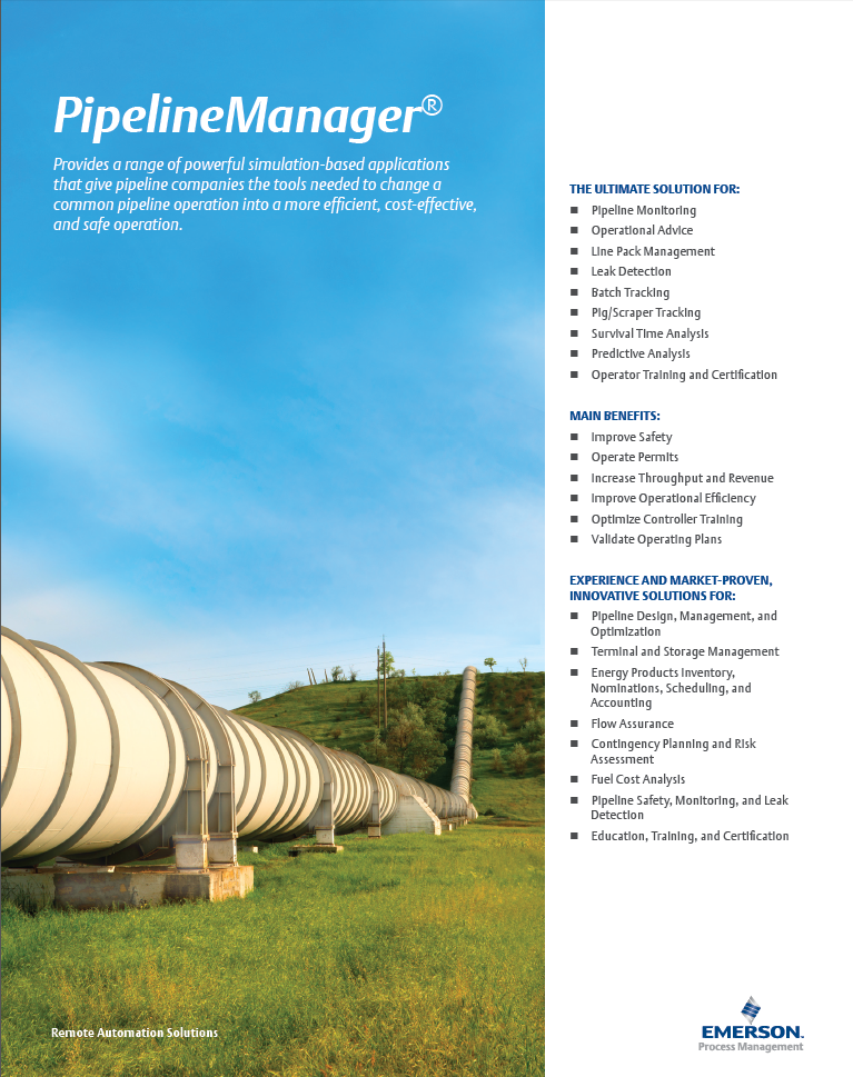 Pipeline Manager Brochure