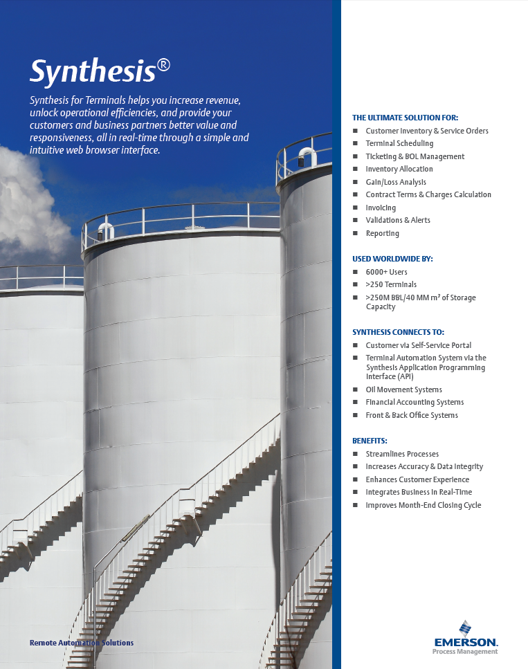 Synthesis for Terminals Brochure